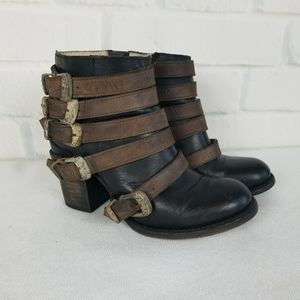 """Freebird """"Boost """" Ankle Boots Size 7"""